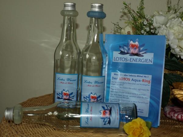 Lotos Aqua-Ring Flasche